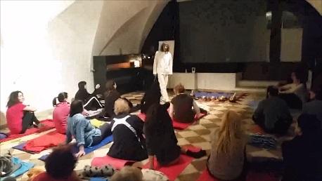 Corso Yoga a Trento - Seduta