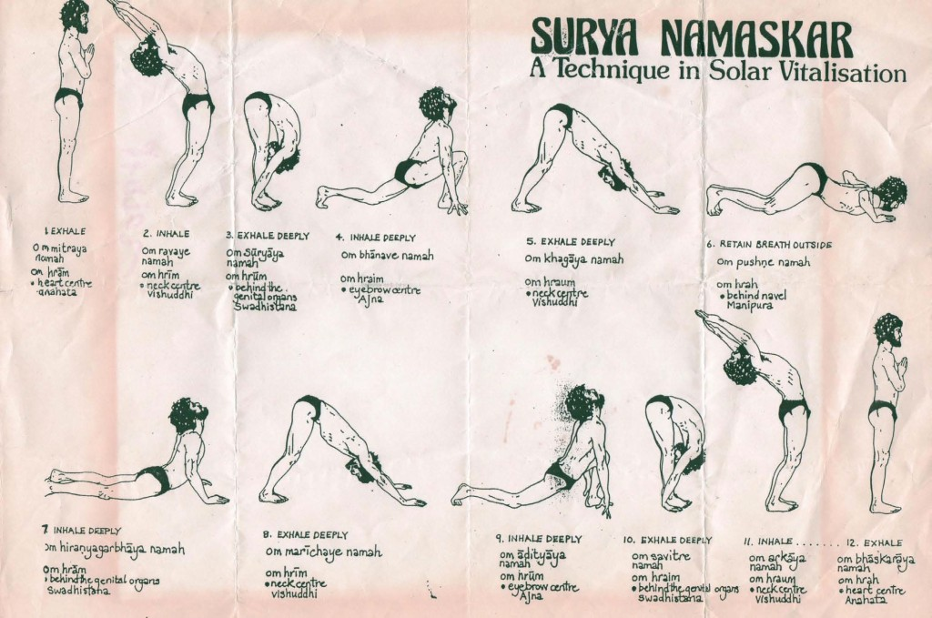 Yoga a Trento - Saluto al Sole Yoga